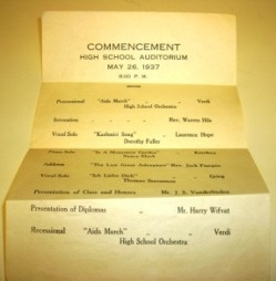 Commencement Document