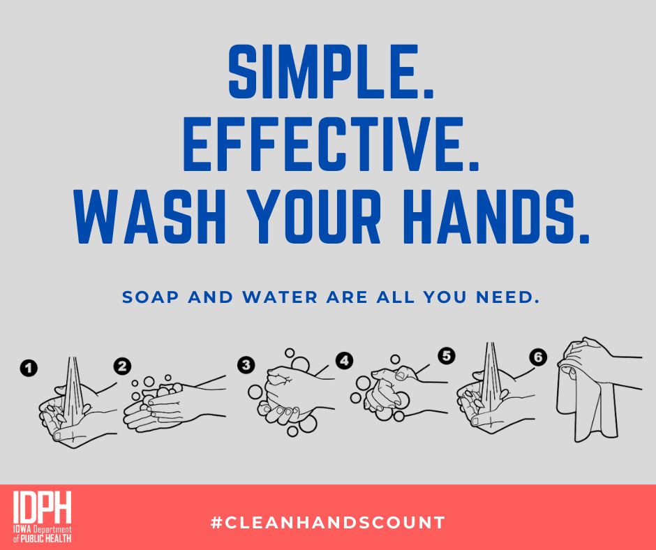 simple. effective. wash your hands_