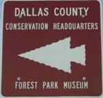 Forest Park Museum Sign